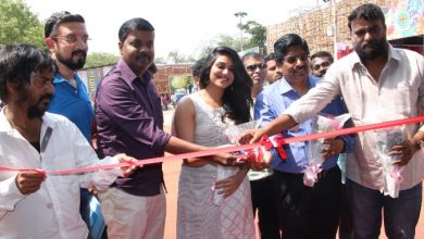 Photo of Actress Indhuja Inauguration Water World Photos