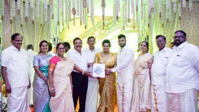 Photo of Le Royal Meridien Hotel Chairman Dr.Palani G.Periasamy Daughter Ananthi – Vinoth Wedding Stills