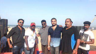 Photo of கடற்கரை பகுதியை சுத்தம் செய்த 'குப்பத்து ராஜா' படக்குழுவினர்!