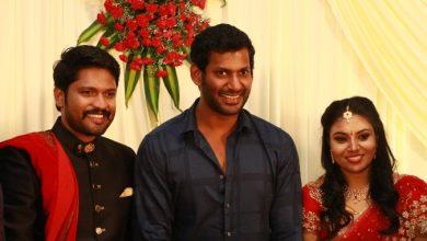 Photo of Actor Soundararaja Wedding Reception Photos