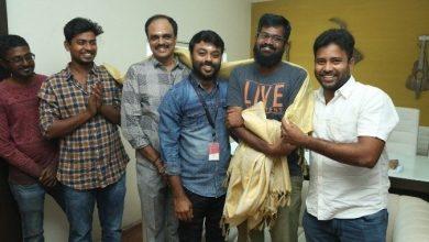Photo of Pallu Padama Paathuka movie dubbing Pooja photos in knack studios