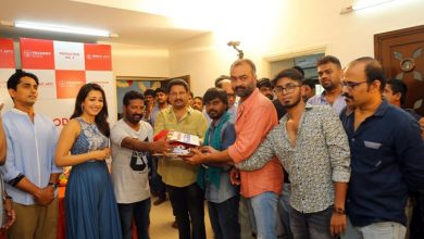 "Photo of Trident Arts – ""Production No 3"" Movie Pooja Stills"