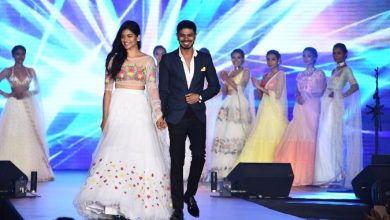 Photo of Actress Aditi Balan showstopper at Provoke Lifestyle's Summer Fashion Festival'18