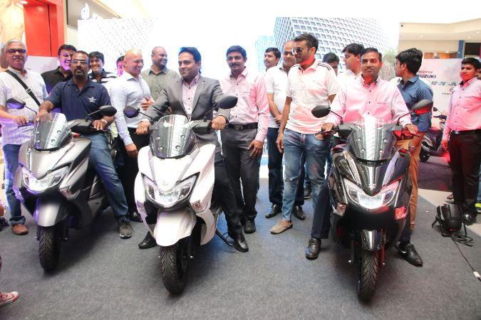 Suzuki Burgman Street - The Special One, Launched in India