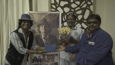 Photo of Chevalier Dr.Raghunath Manet's Kadhal Kavithai Released By Director Bharathiraja