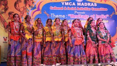 Photo of கலை மற்றும் பண்பாட்டுத்துறையை கெளரவப்படுத்திய YMCA மெட்ராஸ்!