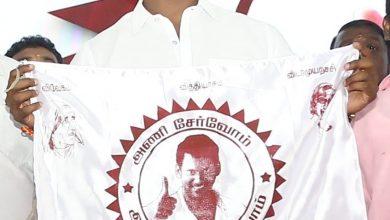 "Photo of ""மக்கள் நல இயக்கம்"" கொடியை அறிமுகம் செய்தார் விஷால் !"