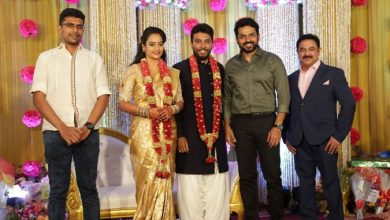 Photo of Actor Shivakumar – Actress Suja Varunee Wedding Reception Stills
