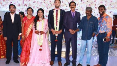 Photo of Actor Director Mano Bala Son Harish – Priya Wedding Reception Stills