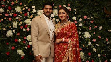 Photo of Arya – Sayyesha Wedding reception Photos