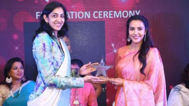 Photo of Actress Priya Anand Grabs Dindigul Thalappakatti Super Women 2019 Awards!