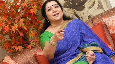 Photo of கஸ்தூரி, நாவை அடக்கு! எச்சரிக்கும் லதா.