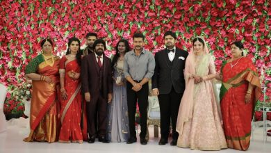 Photo of Music Director T.R.Kuralarasan – Nabeelah R Ahmed Wedding Reception Stills