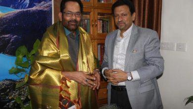 Photo of மத்திய அமைச்சருக்கு ஹஜ் அசோசியேஷன் தலைவர் நன்றி!!!