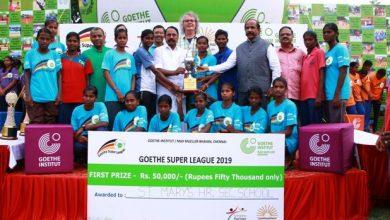 "Photo of Goethe-Institut ""Goethe Super League"" Award and Felicitation Ceremony Stills"