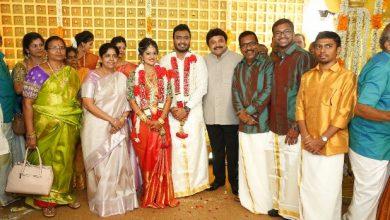 Photo of Actor Charlie elder Son Adhithiya Charlie weds Amritha Photos
