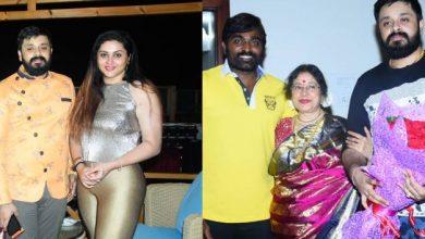 Photo of விஜய் சேதுபதி, நமீதாவோடு பிறந்தநாள் கொண்டாடிய இசையமைப்பாளர் அம்ரீஷ்!