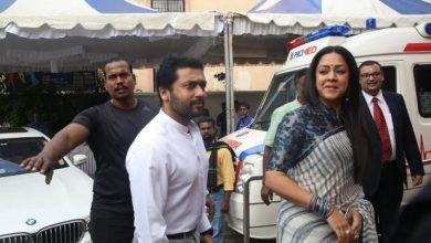 Photo of Suriya – Jyothika at Promed Hospital launch