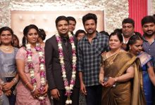 Photo of Actor Sathish – Sindhu Wedding Reception Stills