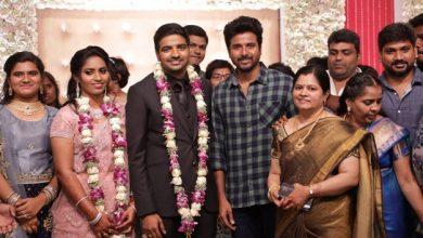 Photo of Actor Sathish – Sindhu Wedding Reception Stills