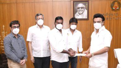 Photo of முதலமைச்சர் கொரோனா நிவாரணத்திற்கு லைகா புரொடக்ஷன்ஸ் வழங்கிய 2 கோடி நிதி!
